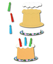 Birthday Sponge Cake Crafting Kit - £0.49