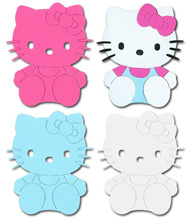Hello Kitty Sitting With Bow Crafting Kit - £0.59