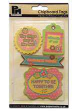 Chipboard Tags - £0.99