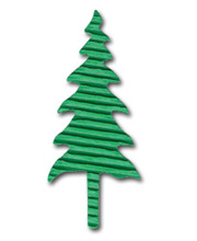 5 Green Corrugated Trees - £0.19