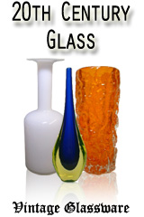Antique + Collectable Vintage Glass