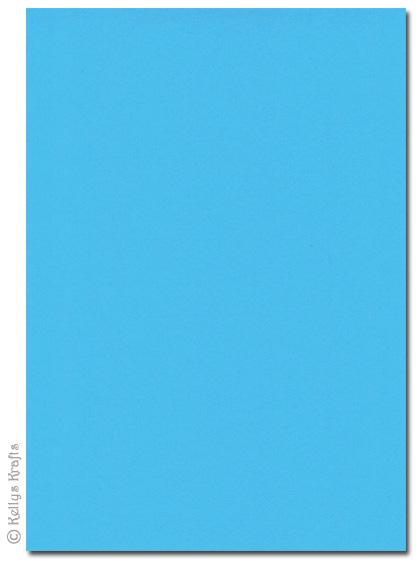 High Quality 270gsm A4 Card Aqua Blue 1 Sheet 163 0 49
