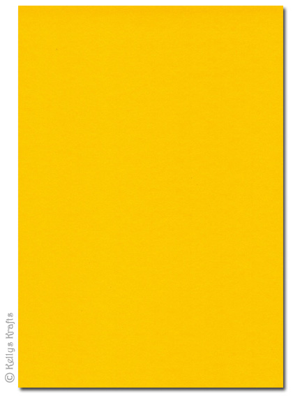 High Quality 270gsm A4 Card Solar Yellow 1 Sheet 049 Card