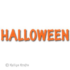 halloween word die cut lettering 0 35