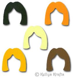 Girl Hair Template rustic – wodip.com