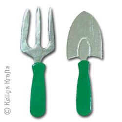 Gardening Fork And Trowel (1 Pair)