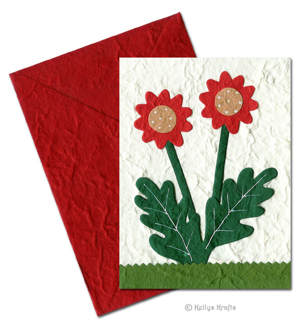 Hand made cards card making scrapbooking die cuts handmade mulberry greeting card flowers m4hsunfo