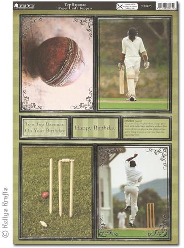 Kanban craft toppers top batsman cricket 900825 1 for Cricket printing machine craft supplies