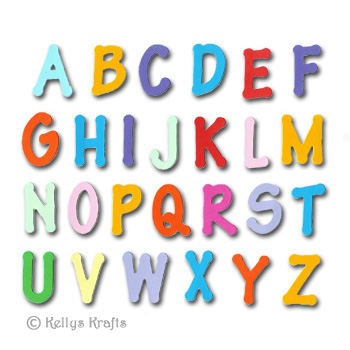 letters to numbers die cut letters levelings 1470