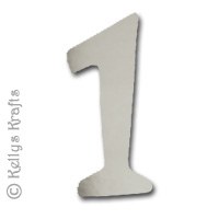 3d Silver Steel Number 1 Isolated White Background Royalty Free ...