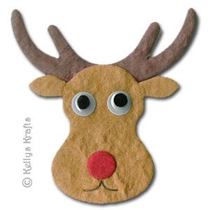 Reindeer Face Template