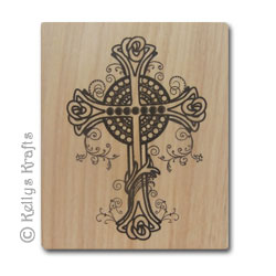 Wooden Mounted Rubber Stamp