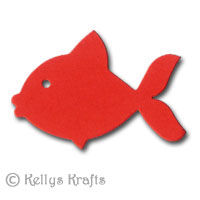 Fish Die Cut Shapes Pack Of 10 163 0 29
