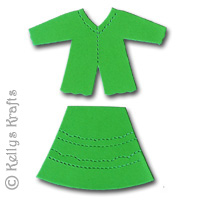 a643f38032 Blouse   Skirt Outfit Die Cut Shapes (Pack of 10)
